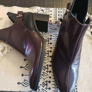 ZARA ankle boots booties sz 10
